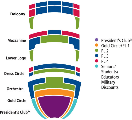 Civic Theatre Seating Chart