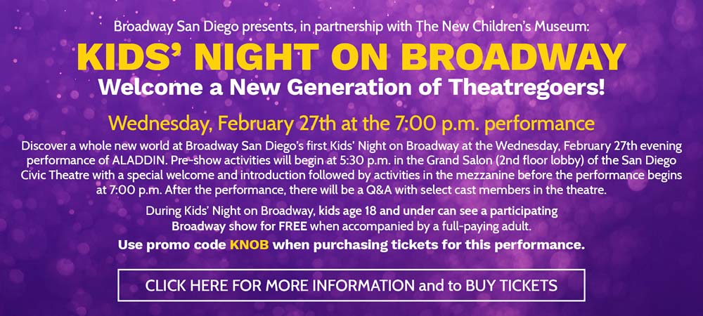 Disney's Aladdin - Broadway San Diego