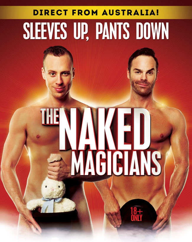 Naked Magicians - Broadway San Diego