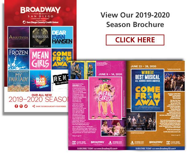 706d0366ee Season Subscription - Broadway San Diego